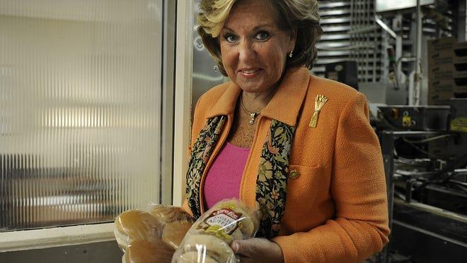 Cordia Harrington, the CEO of Nashville Bun Company.