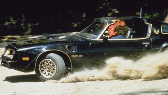 Bandit's car of choice? A 1977 Pontiac Firebird Trans