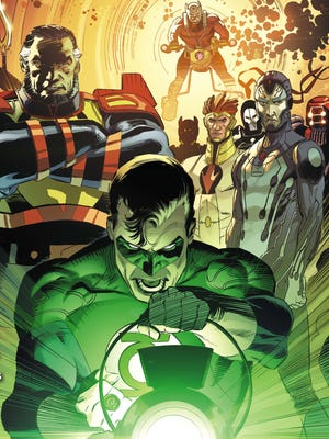 "Beginning with a one-shot Wednesday, the ""Godhead"" crossover pits the New Gods vs. the Green Lantern Corps."