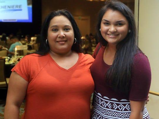 Becky Cavazos (left) and Jaclyn Cavazos