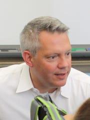 Scarsdale schools Superintendent Tom Hagerman