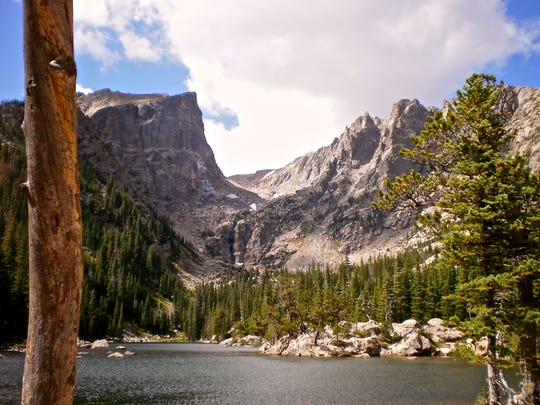 2. Dream Lake in Rocky Mountain National Park.