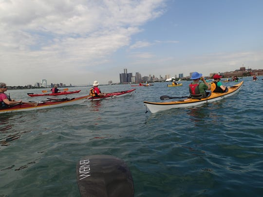 "Forget the long drive ""Up North."" A growing number of metro Detroiters know the best paddling is right here on the Detroit River."