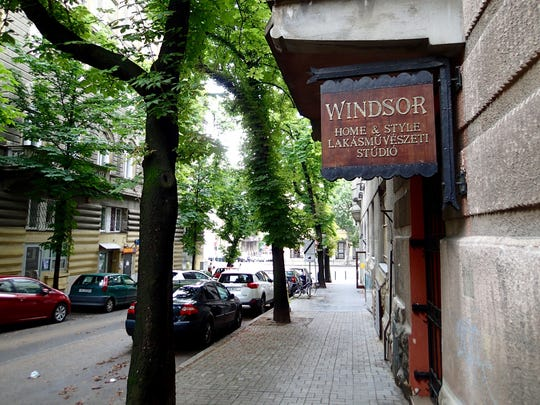 The streets of Budapest can stand in for many cities