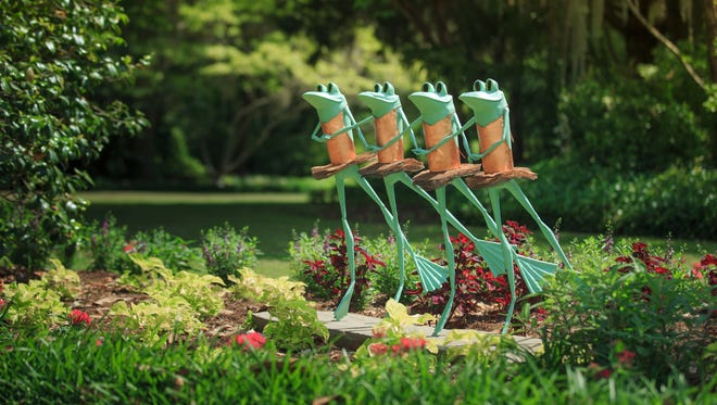 Ribbit the Exhibit opens Aug. 5 and continues through Oct. 1  at Kingwood Center Gardens.