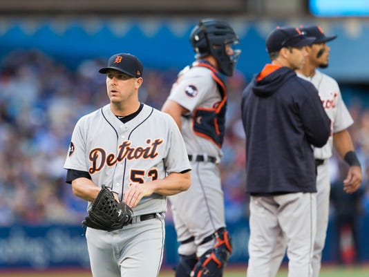 MLB: Detroit Tigers at Toronto Blue Jays