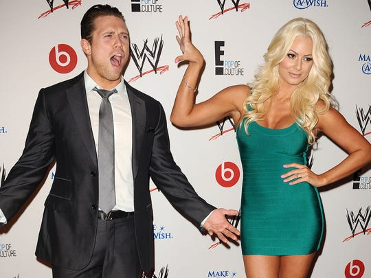Miz and Maryse, a real-life couple and for Sunday a