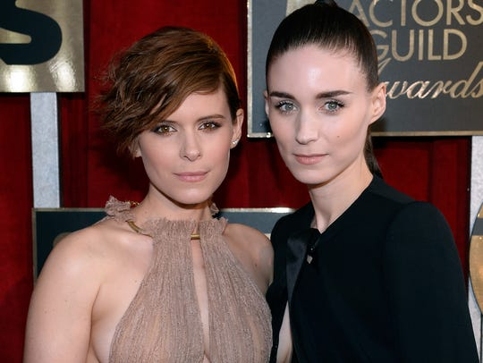 Actress sisters  Kate Mara (L) and Rooney Mara at the 22nd Annual Screen Actors Guild Awards.
