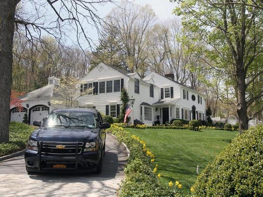 Andrew Cuomo's home on Bittersweet Lane in Mount Kisco