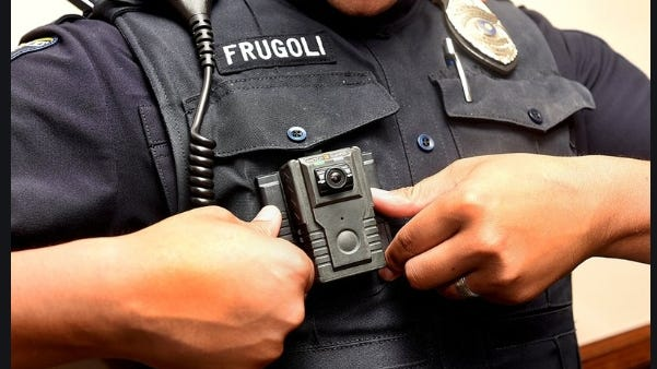 Police body-worn cameras are expected to be in use by Weymouth officers  [Photo/ New Bedford Standard Times}