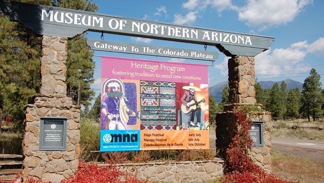 The Museum of Northern Arizona in Flagstaff sits at the base of the San Francisco Peaks.