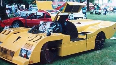 My dad dreamed of building his own sports car company.
