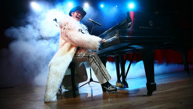 """Catch """"Remember When Rock Was Young — The Elton John Tribute,"""" starring award-winning singer/actor/pianist Craig Meyer, 7:30 p.m. Saturday, May 9, at the Historic Elsinore Theatre."""