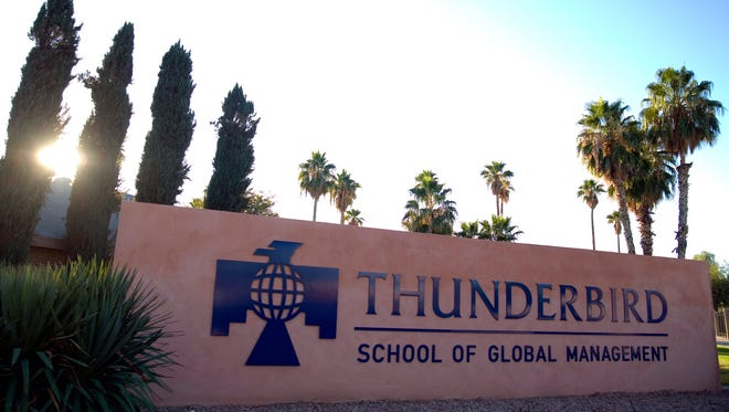Arizona State University's Thunderbird School of Global Management will temporarily lease space at Arizona Center, a downtown retail and commercial space. Graduate students at Thunderbird may start taking classes at there in fall 2018 or spring 2019.