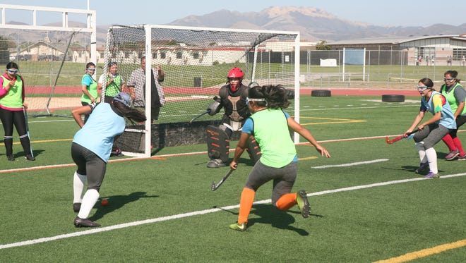 The Vikings boast a dangerous attack featuring Samantha Herrera, Valerie Lepe and Jacqueline Ruvalcaba. Vikings head coach Stanley Marple hopes the trio will find the net often this season for North Salinas.