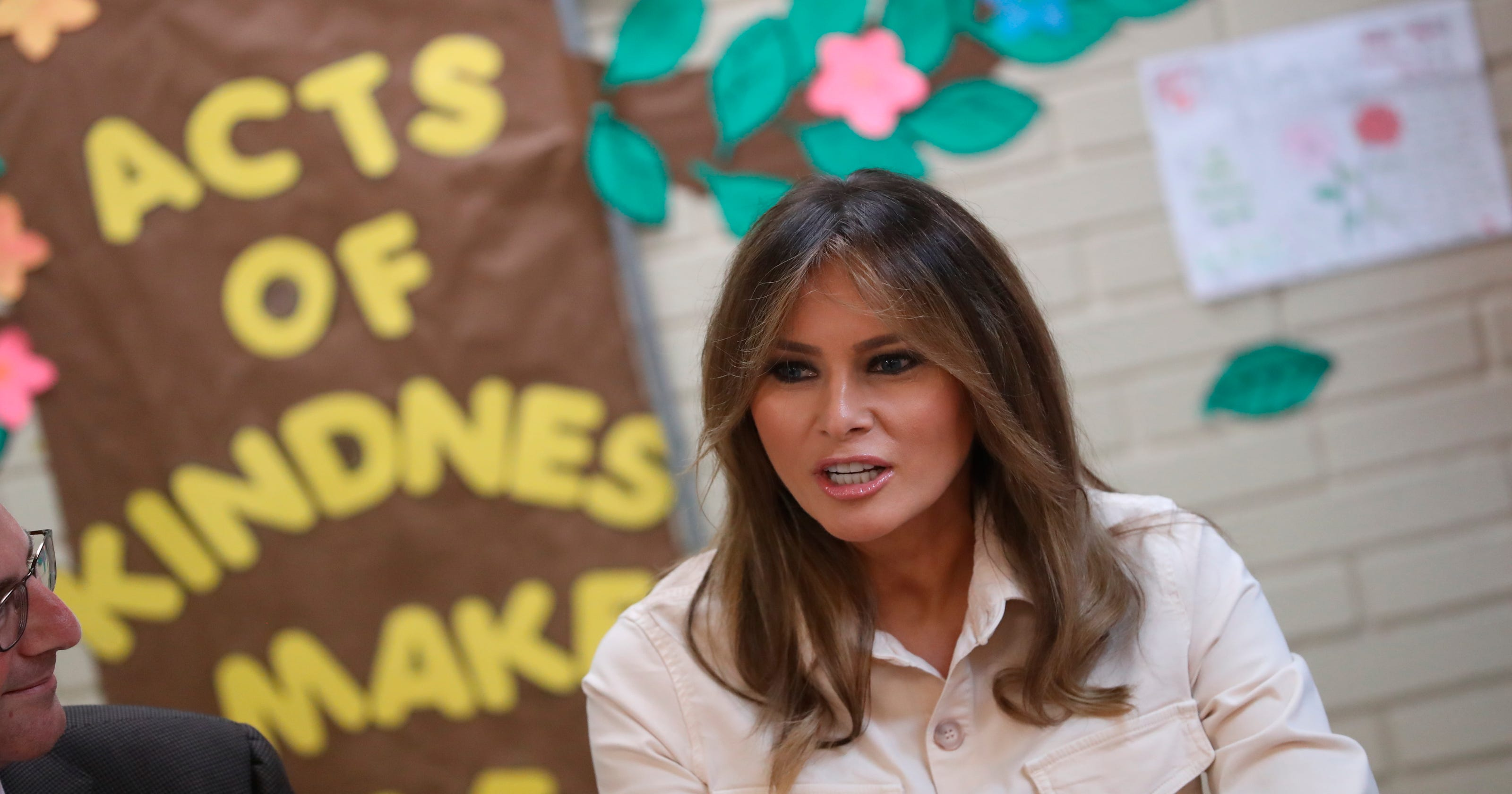 bab6f953 Melania Trump steps in again on migrant kids crisis in surprise trip to  Texas