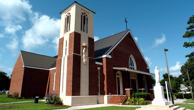 St. Anne Catholic Church is seen in Youngsville. In late 2015, the church announced plans to build a Catholic school, but there have been no developments since.