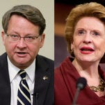 Sens. Gary Peters and Debbie Stabenow say they will look for other ways to get funding for Flint.