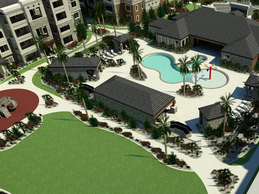 Pool Area - Arial