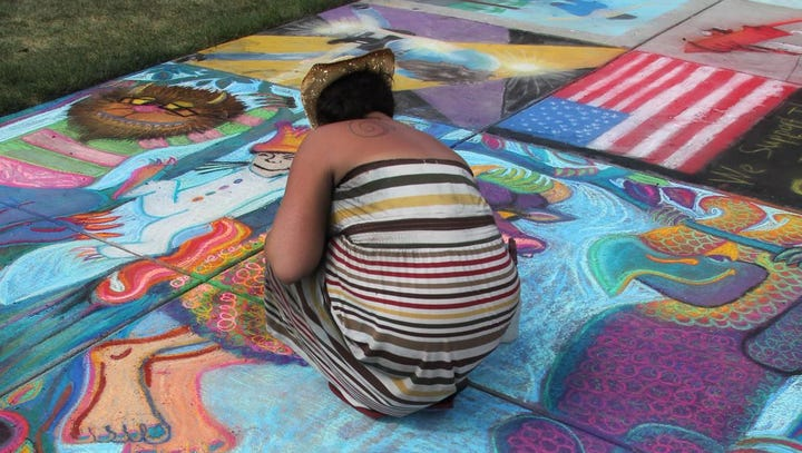 7 tips for mastering the art of Chalkfest