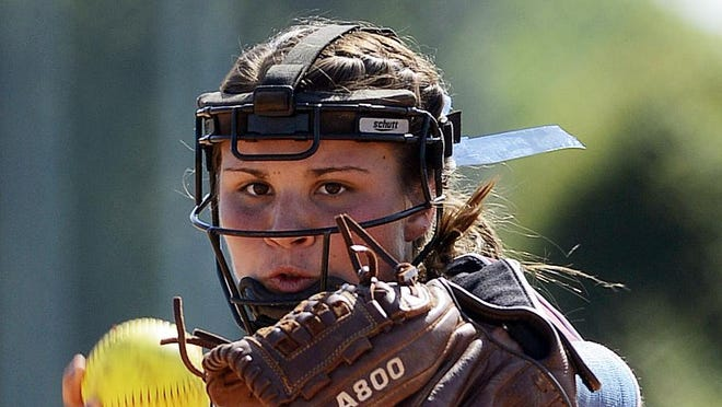 Alabama Christian pitcher Caitlin Perry is on the Alabama Sports Writers Association Super All-State softball team.
