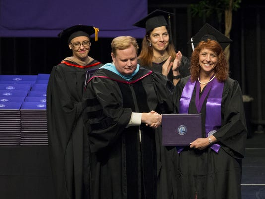 Mom accepts deceased daughter's GCU diploma
