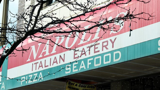 Napoli's Italian Eatery in downtown Canton