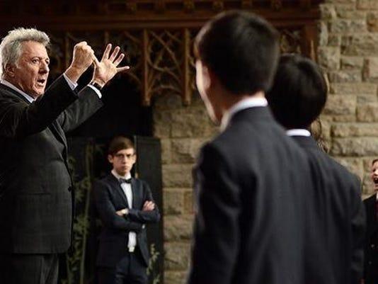 Dustin Hoffman choir master
