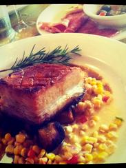 Pork Belly at Bros.