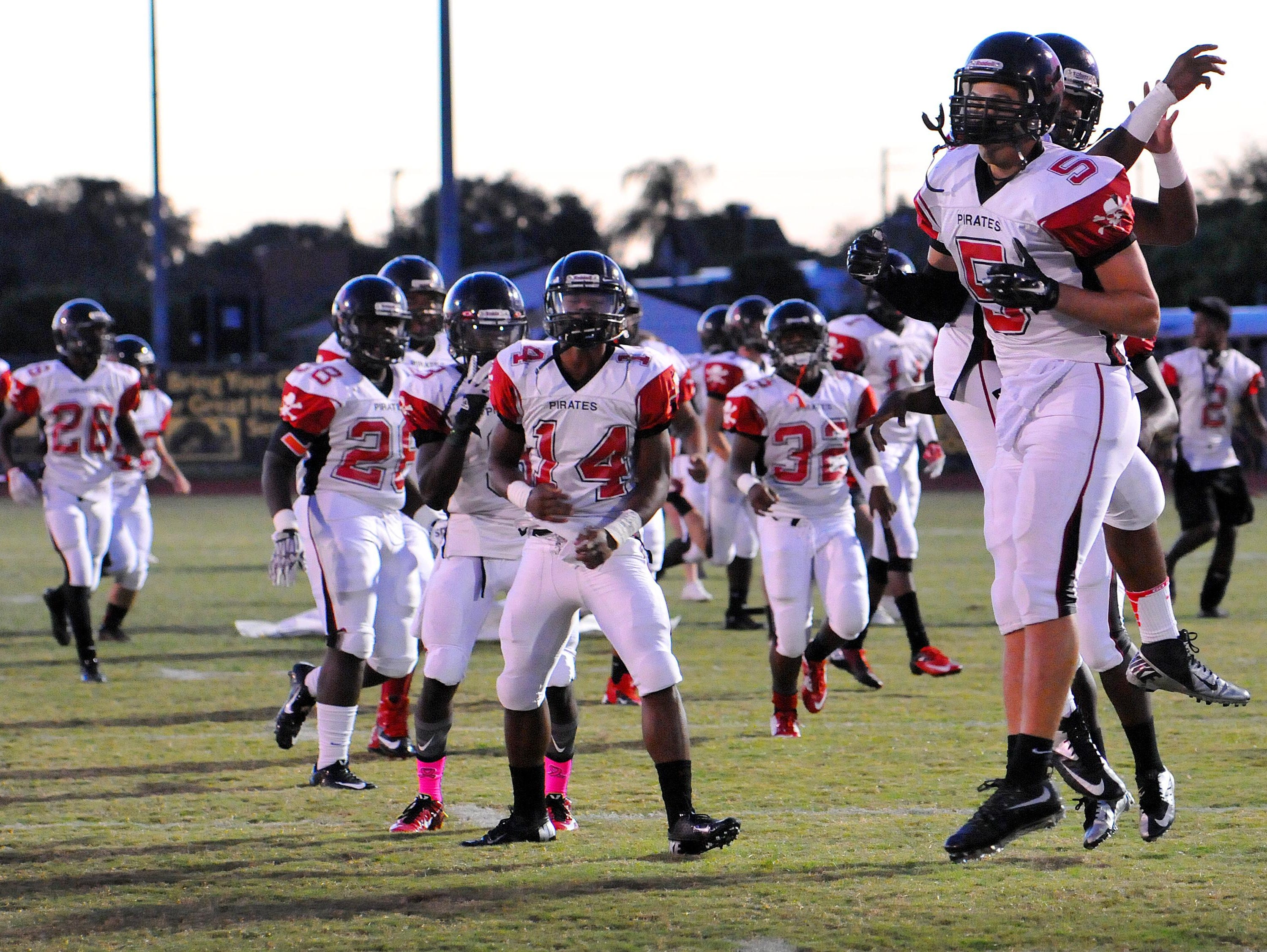 Palm Bay High hosted Satellite High on Friday night.