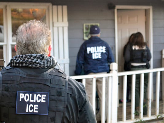 Immigration arrests increase