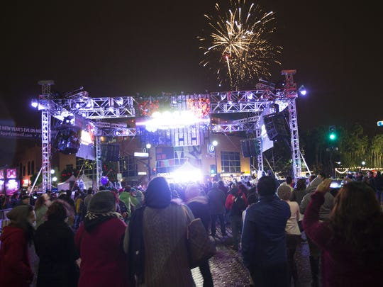 The New Year's Eve Block Party in Tempe is a monster, featuring 18 outdoor bars and confetti and fireworks at midnight.