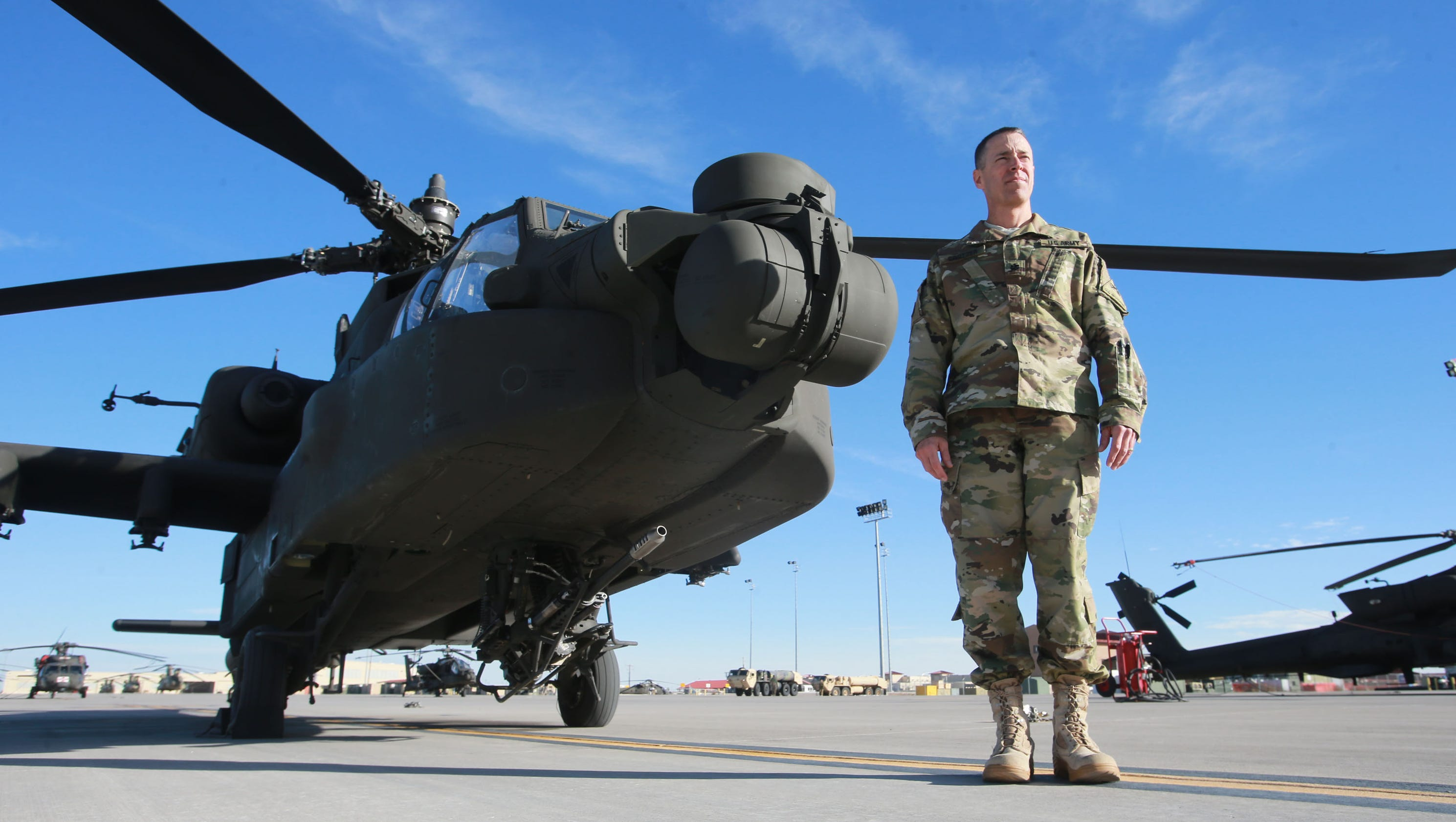 400 Bliss soldiers, 24 helicopters set for Europe