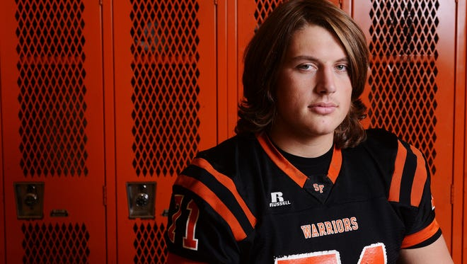 Matt Farniok helped lead the Washington Warriors to the state title. He's one of the most coveted offensive linemen in the region and has yet to decide his college choice.