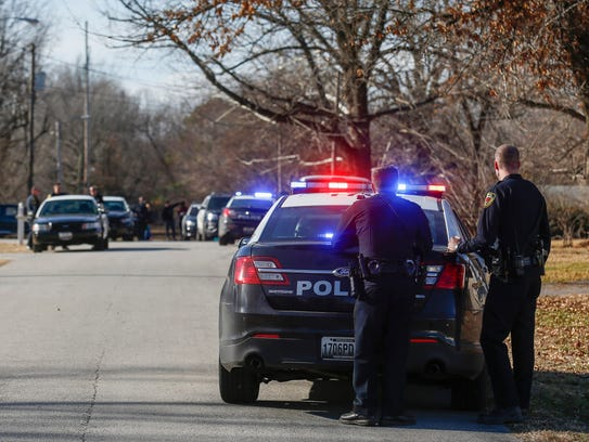 Springfield police apprehended a man on the 2500 block