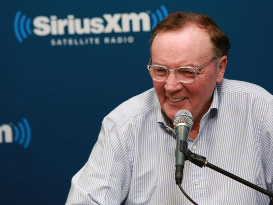 "Author James Patterson And NBA Legend Grant Hill Visit The SiriusXM Studios For ""SiriusXM""s Town Hall With James Patterson And Special Guest Grant Hill"""