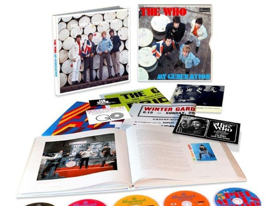 """The Who, """"My Generation Super Deluxe Edition"""""""