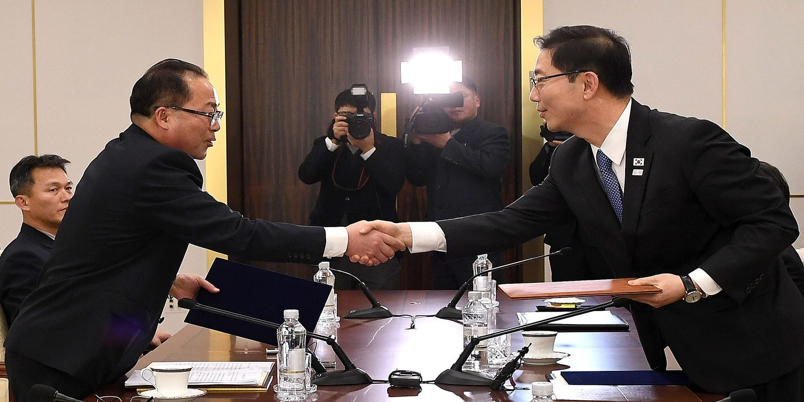 Winter Olympics North South Korea Agree To Form First Unified Team
