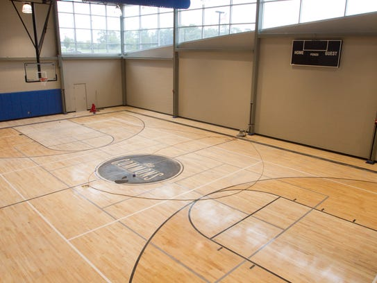A full basketball court is among the new facilities