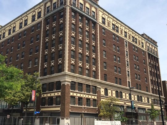 Renovation of the Hotel Northland, seen here from the corner of North Adams Street and Pine Street, is expected to commence later this month.