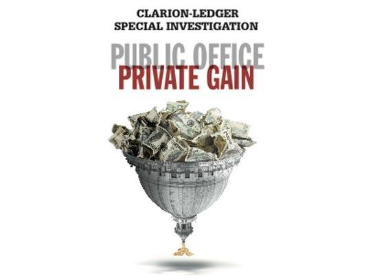 Public Office. Private Gain.