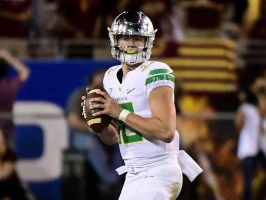 NCAA Football: Oregon at Arizona State
