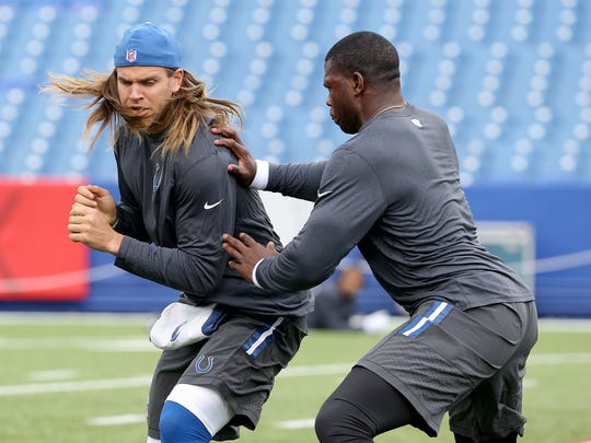 With around $20 million less to spend in free agency this year, the Colts will have to pick between one of these two.