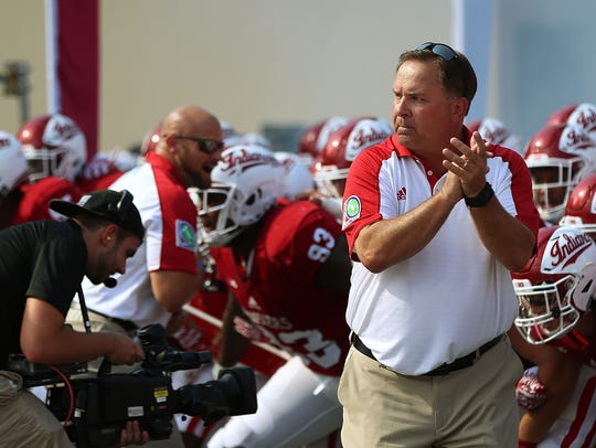 Kevin Wilson coached IU for six seasons before resigning