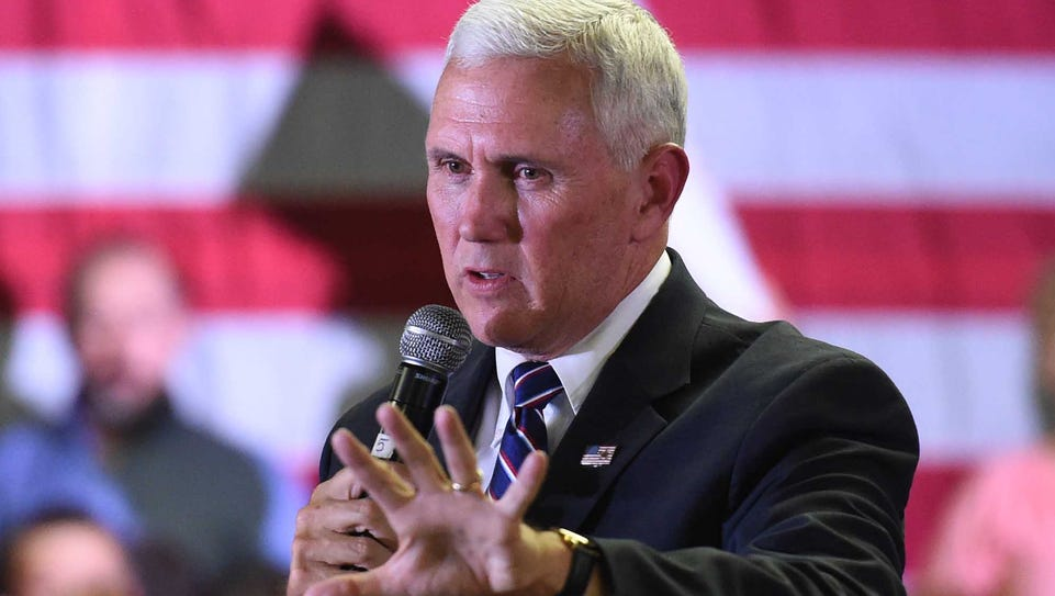 Images from the Michael Pence visit to Carson City
