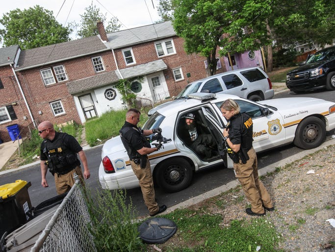 Delaware police new attack on heroin working Sun garden manufactured home community