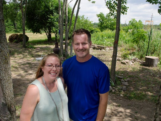 Shannon and Scott Schwade, of Cottrellville Township,