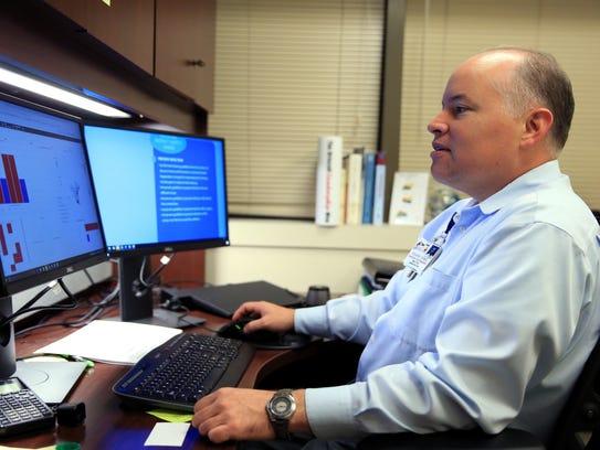Eduardo Gomez, assistant vice president of analytics