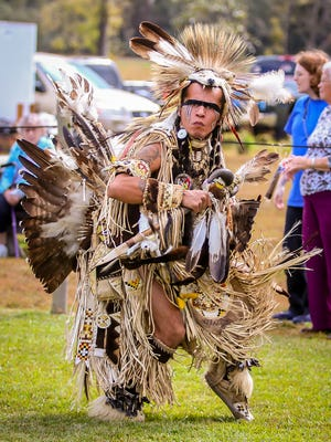 Hundreds of people enjoy the Santa Rosa County Creek Indian Tribe's 27th annual Pow Wow in Milton on Saturday, November 18, 2017. The free event featured numerous dancers, exhibitions, drummers, storytellers, vendors, and more.