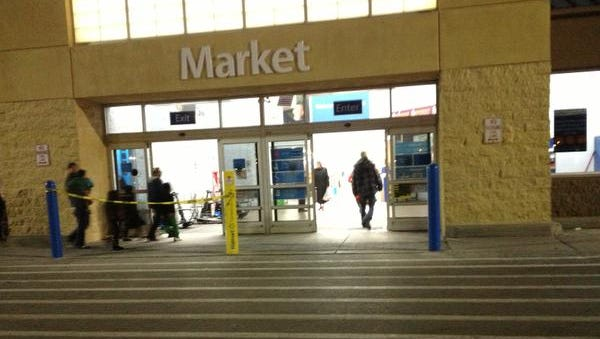 Gates police responded to Walmart on Chili Avenue late Friday.